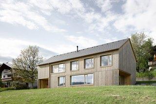 Sven Matt's Simple Gabled Home