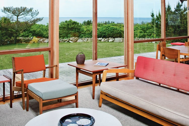 Rinsom Residence Interior Living Room  Risom Residence