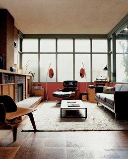#midcenturymodern #Eames #HermanMiller #lounge #chair #livingrooms #U-vola #speakers #EliteAudioSystems #GretchenRice #KevinFarnham