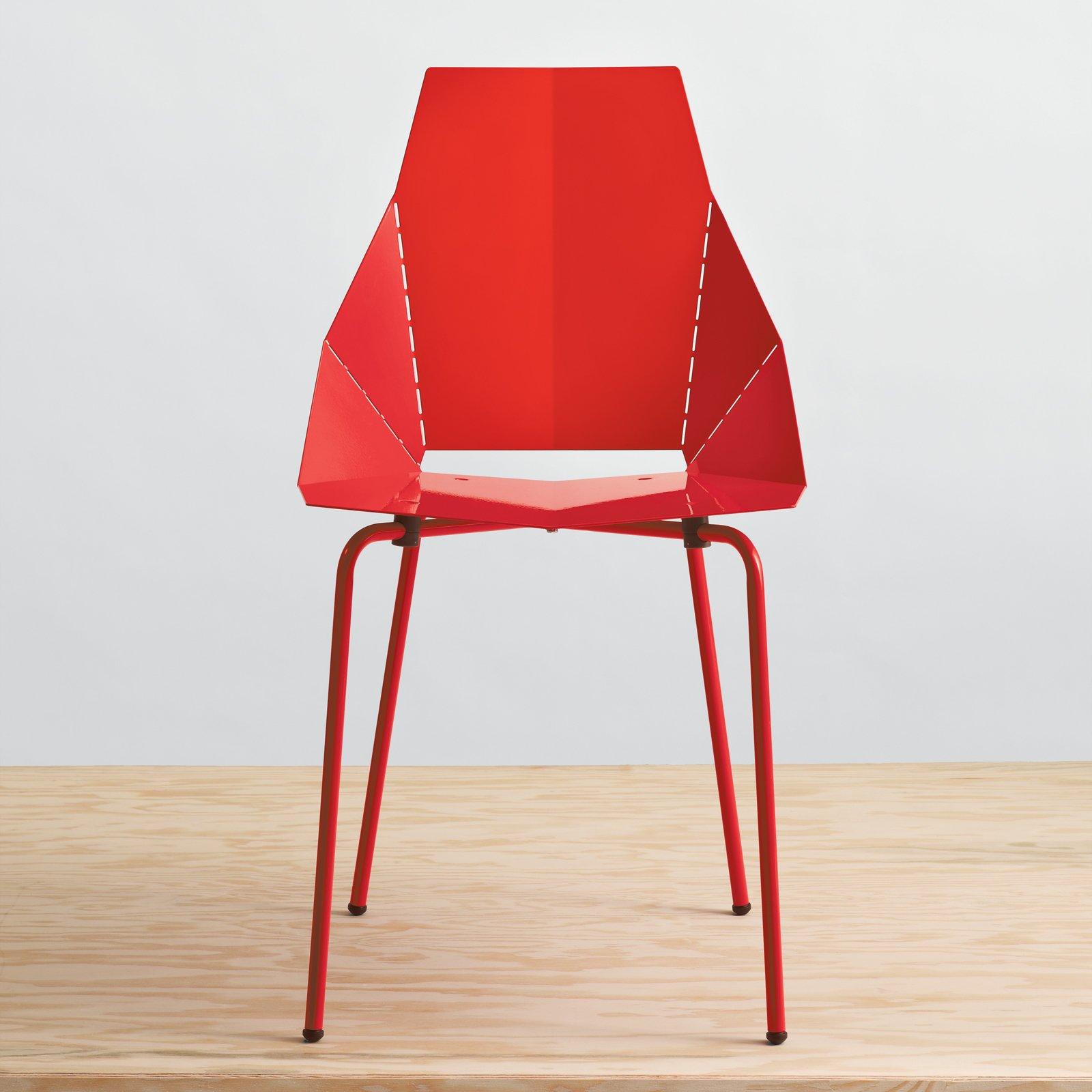 #seatingdesign #red #modern #chair #RealGoodChair #bright #BluDot #sculptural   100+ Best Modern Seating Designs