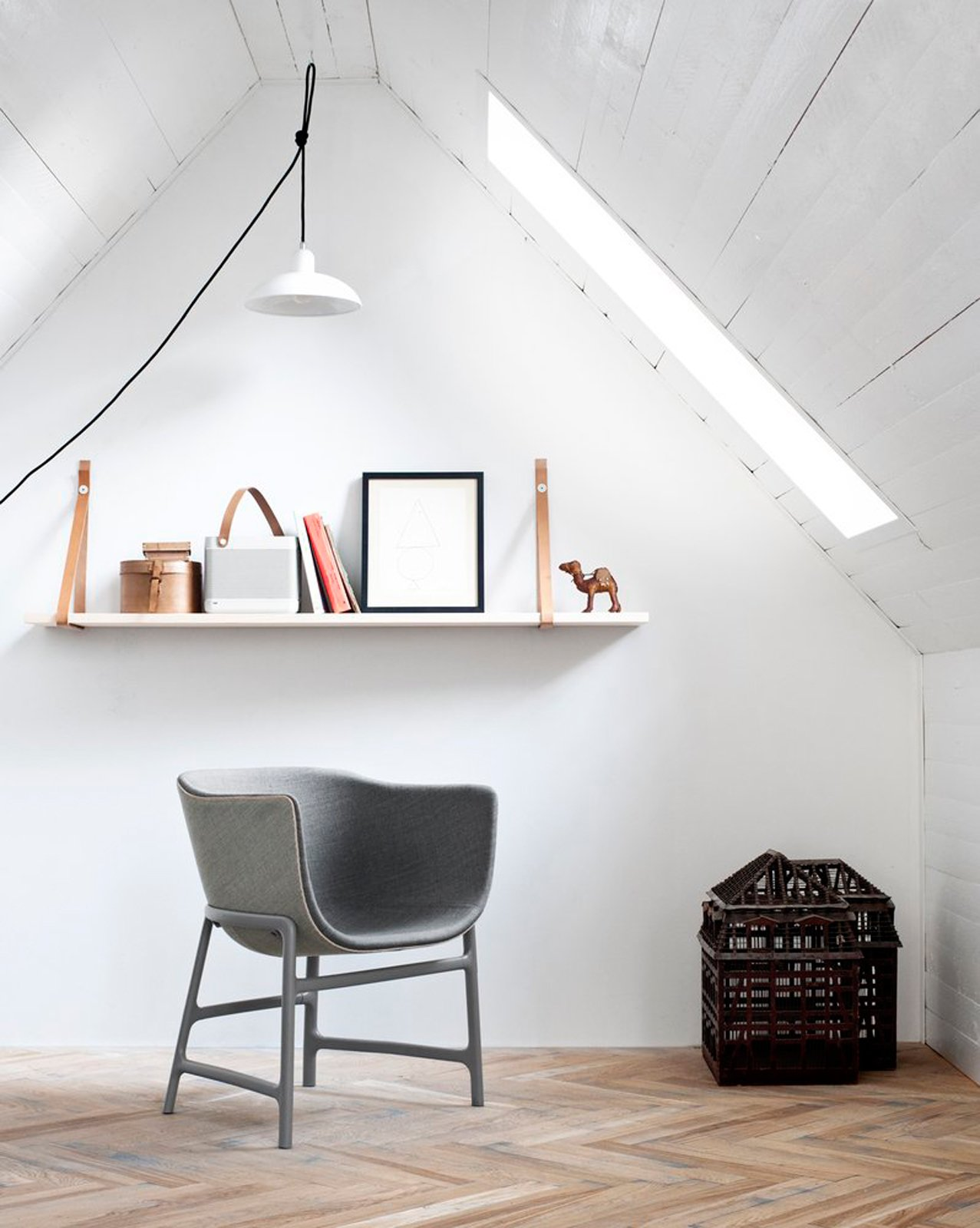 #seatingdesign #miniscule #chair #grey #Danish #CecileManz #rounded #leather #plastic   100+ Best Modern Seating Designs