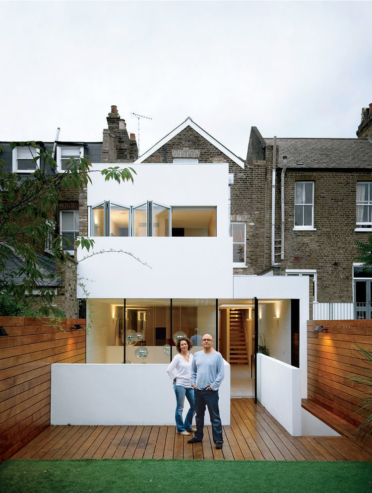 #modern #architecture #modernarchitecture #glass #wood #minimal #Victorian #renovation #London #WilliamTozer  Photo 20 of 21 in I Love Modern Architecture from Modern Outside