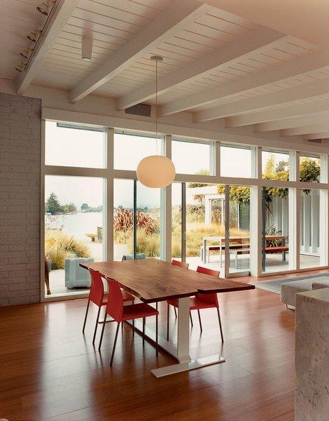 #interior #dining #modern #table #diningroom #wood #diningtable #indoor #ChristopherDeam #Belvedere #California