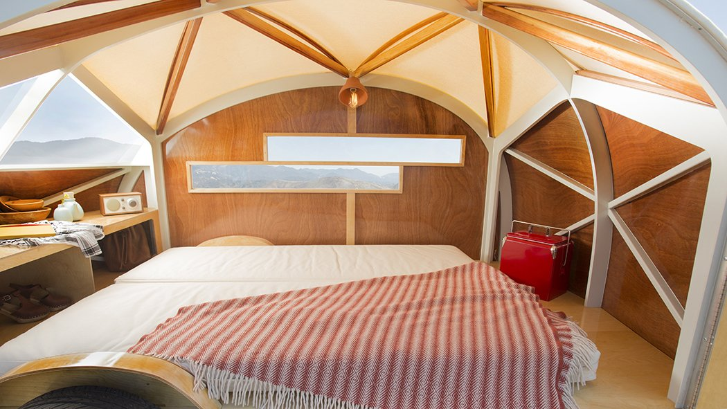 #smallspaces #prefab #Hütte Hut #BrianManzo #KatrinaManzo #SproutingSprocketStudio #yurt #wood #window #light    Camping from Tiny Homes