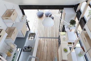 #prefab #modern #structure #shape #form #interior #inside #indoors #indooroutdoorliving #pod #SouthAfrica #PODINDAWO #ClaradaCruzAlmeida