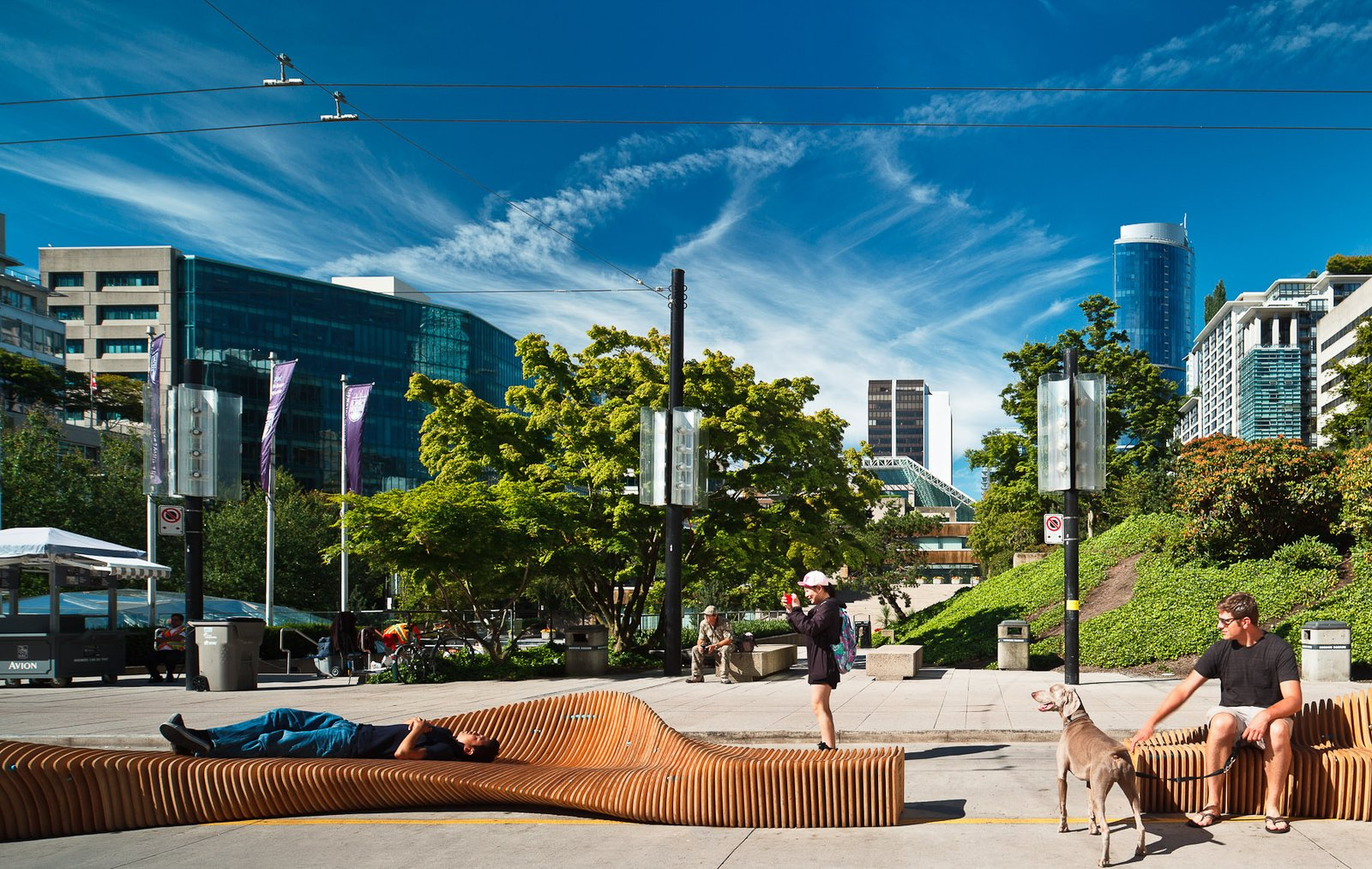 #seatingdesign #seating #outside #outdoor #exterior #park #publicpark #bench #VIVAVancouver #Vancouver #UrbanReef #relax   Courtesy of Latreille Delage Photography  100+ Best Modern Seating Designs