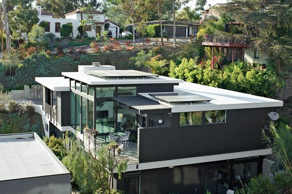 The Shayan House takes full advantage of its canyon site.