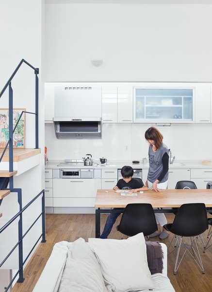 "Called the ""LDK,"" for living, dining, and kitchen, the space is flexible—a blend of Western loft life and traditional Japanese homes, where rooms are multipurpose."