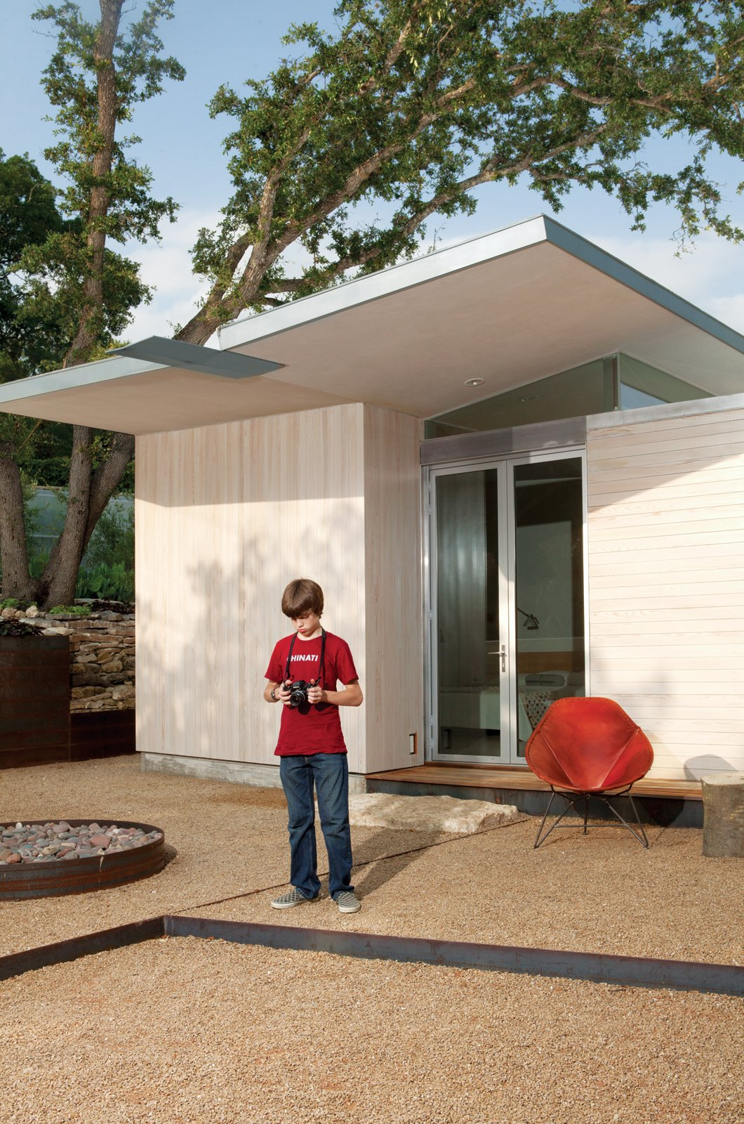 Articles about hillside mid century home renovation texas on Dwell.com