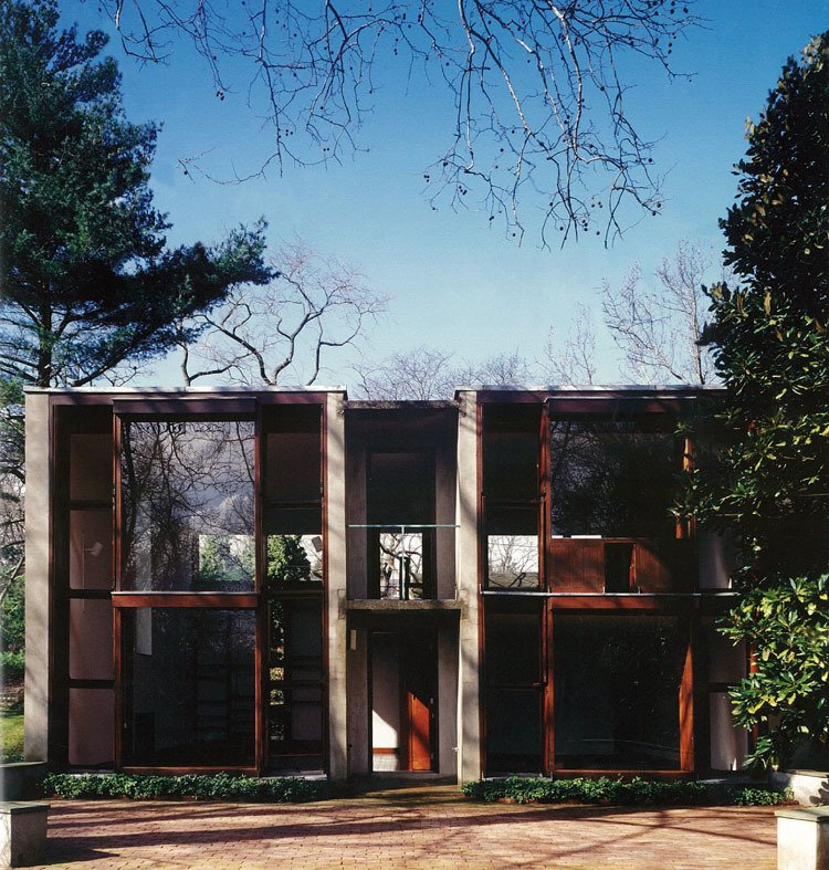 """Make a real impression on a hard-to-shop-for design lover with the purchase of an American architectural landmark, Louis Kahn's 1961 Esherick House in Philadelphia. It's located on 3/4 of an acre in the suburb of Chestnut Hill and comes with an original, Kahn-designed kitchen and custom millwork throughout. $975,000 via BHHS Fox & Roach.  Search """"paris landmarks architectural print unframed"""" from Holiday Gift Guide: For the Person Who Has Everything"""