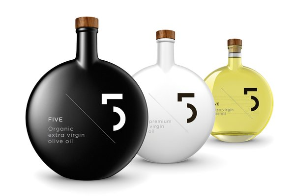 Another tactic is perishable items that look good enough to display on a kitchen counter. This line of Greek olive oil fits the bill--it even won a Red Dot Design Award for packaging in 2012. FIVE Organic extra virgin olive oil, $49 each at Ultra Lavish.