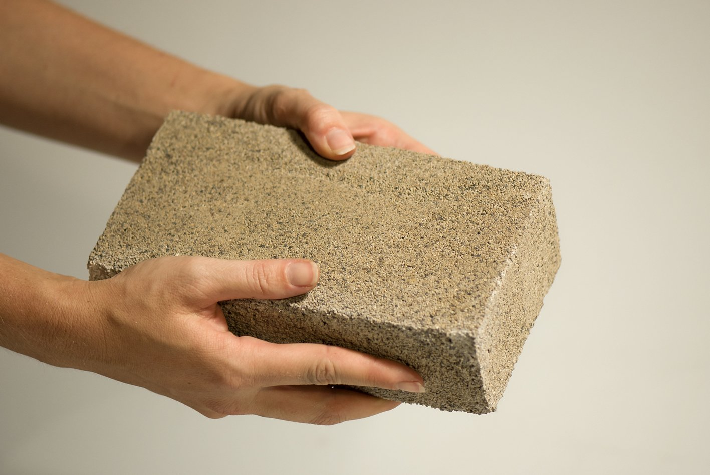bioMASON developed a technology that uses bacteria to form a natural cement that binds aggregate into durable bricks.  Photo 3 of 4 in Contest Spotlights Four Innovative Sustainable Building Materials