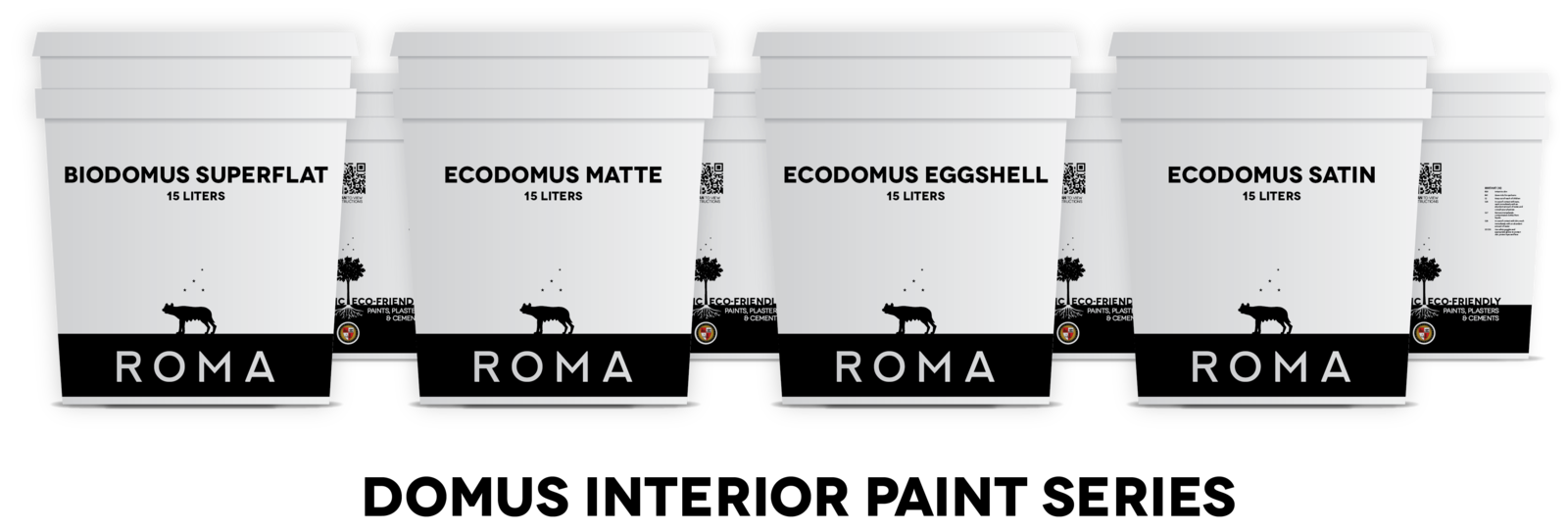 ROMA's Domus Mineral Paints are made from natural materials and are free of toxic chemicals and asthmagens.  Photo 4 of 4 in Contest Spotlights Four Innovative Sustainable Building Materials