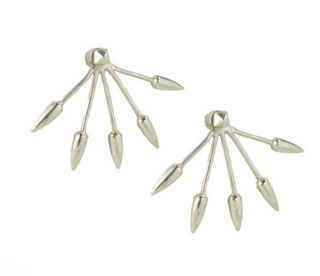 Earrings and light fixtures have more than a few things in common, and this set reminds us of some of our favorite chandeliers by Workstead or Lindsey Adelman. From $205 at Pamela Love