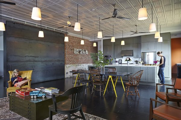 Modern Homes With Exposed-Brick Accents