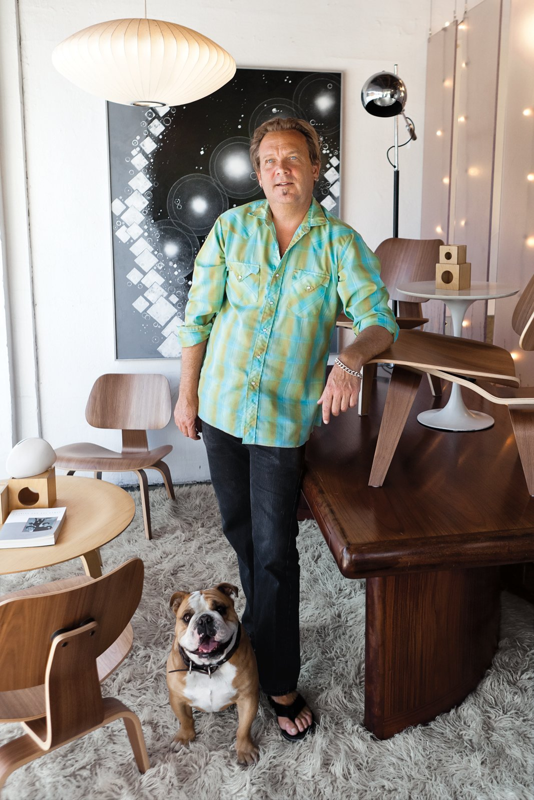 Ron Green's affable personality (and that of his store guard, bulldog Hana), along with his immense knowledge of furniture, keeps the regulars coming back to   his 2,800-square-foot shop, the Green Ant.  Green from Utah Bound