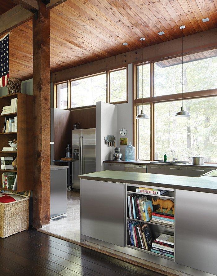 Modern Sustainable Kitchen Renovation in Pennsylvania - Dwell