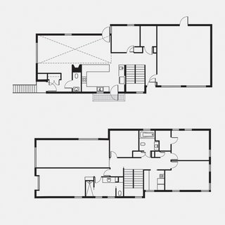 Lola House Floor Plan  A Living-Dining Room  B Entrance  C Half Bathroom  D Kitchen  E Office  F Mud Room  G Garage  H Master Bedroom  I Master Bathroom  J Master Closet  K Bathroom  L Laundry Room  M Bedroom