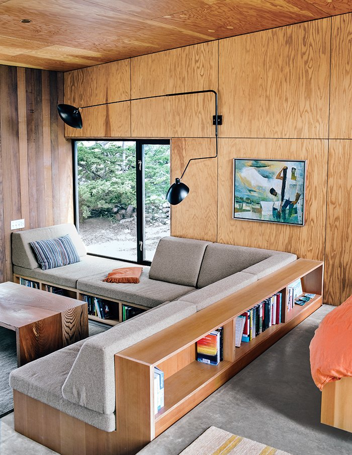 modern home sea ranch interior living room