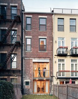 Modern Rowhouse Renovation in New York