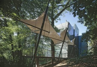 The Finnish embassy, which opened in 1994 on the site of an old mansion overlooking Rock Creek Park in Washington, was recently awarded a Leadership in Energy and Environmental Design, or LEED, platinum certification from the U.S. Green Building Council. The embassy was designed by Mikko Heikkinen and Markku Komonen of Heikkinen-Komonen Architects.