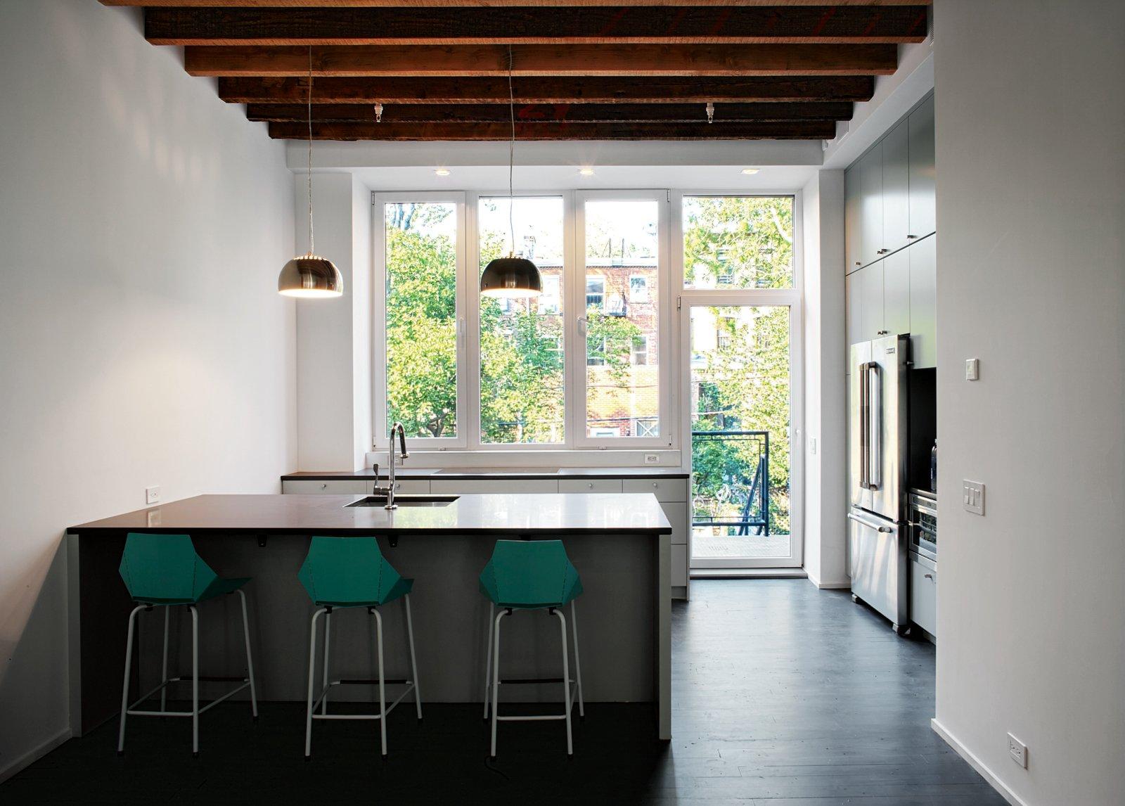 renovated brooklyn brownstone kitchen