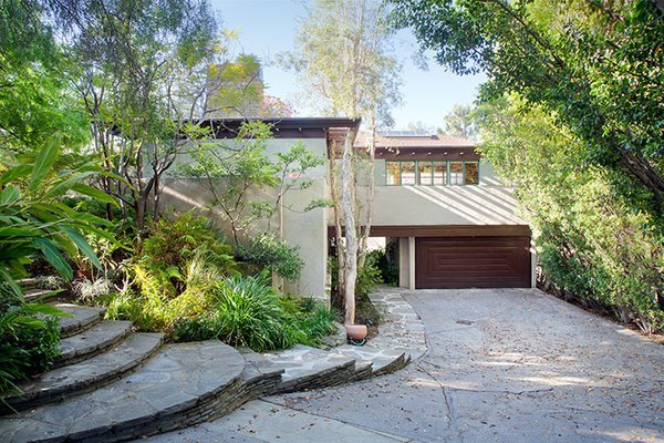 Lloyd Wright, son of famed architect Frank Lloyd Wright and a modern master himself, designed the 3,100-square-foot, four-bedroom Brentwood, California, home in 1936. It's currently on the market for $4.395 million.