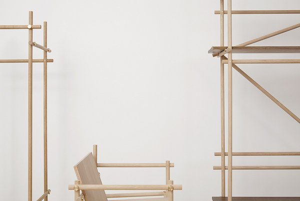 The ready-to-assemble series will be exhibited in Nomann Copenhagen's flagship store in Copenhagen until December 5, 2013.