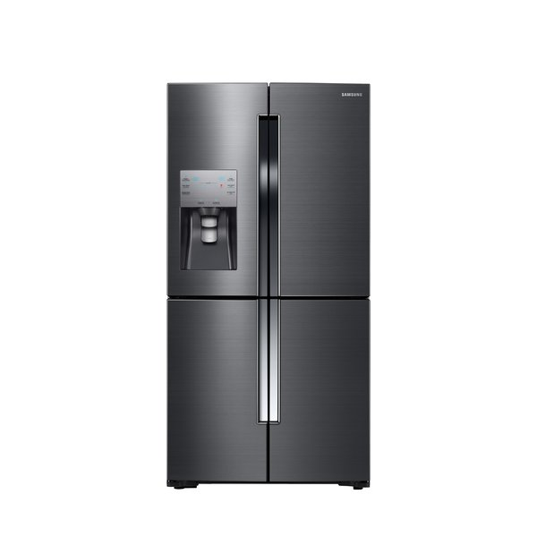 4-Door Flex refrigerator by Samsung, $4,200  Samsung's new Black Stainless line of fingerprint-resistant appliances includes the 4-Door Flex, with a quadrant that can be switched from fridge to freezer settings and enough space for 23 bags of groceries.