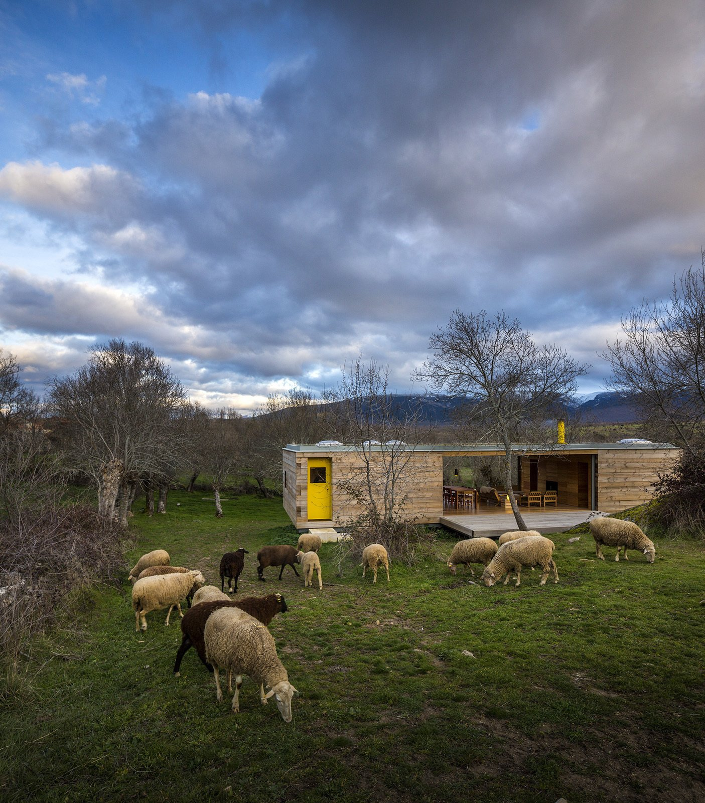 House of the Week: Timber Box Home in the Middle of the Spanish Countryside
