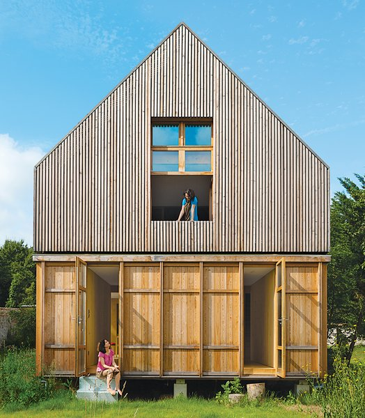 Eco-Friendly A-Frame in the French Countryside