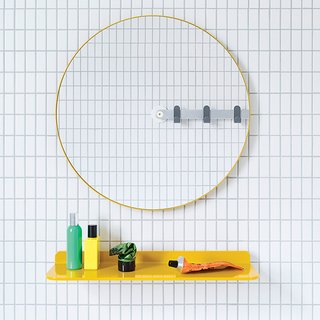 Mirror by MAP for Sabi, $160  Not only is it irresistibly cute, Sabi's mirror is also designed for universal use. Installation is a breeze: Punch out the to-scale template from the packaging and hang it with the included adhesive or easy-mount screw.