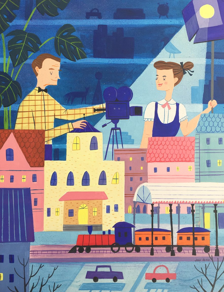 Toy Trains by Josie Portillo   The exhibition narrates the many aspects of the couple's lives, such as filmmaking.  Get Your Eames Fix at This Gallery   by Matthew Keeshin