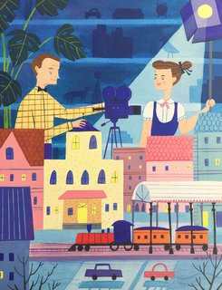 Toy Trains by Josie Portillo   The exhibition narrates the many aspects of the couple's lives, such as filmmaking.