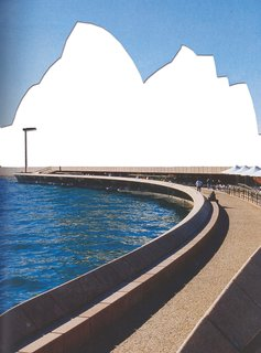 Sydney Opera House, Jorn Utzon Peter Hall Lionel Todd and David Littlemore, 1973.