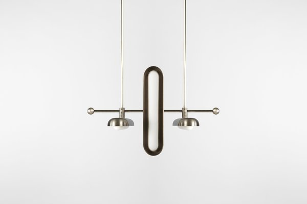 New York–based studio APPARATUS unveils two new lighting collections as well as a marble furniture line at its Milan showroom. A design from the Circuit series is pictured. See it at Via Santa Marta 14.  60+ Modern Lighting Solutions by Dwell from Things Not to Miss at Milan Design Week 2016
