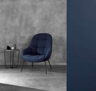 The Mango lounge chair for Danish brand WON.