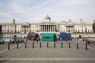Four Designers Reimagine the Home in London's Trafalgar Square