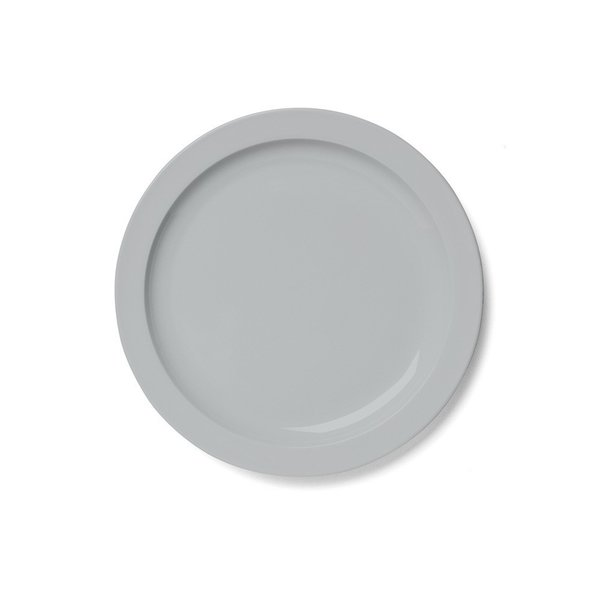 Available in two soothing colors, the Norm Dinner Plate is a simple piece of dinnerware that will communicate well with a variety of palettes. When Valentine's Day is over, this plate can be used for everyday dinners and fancy parties alike.