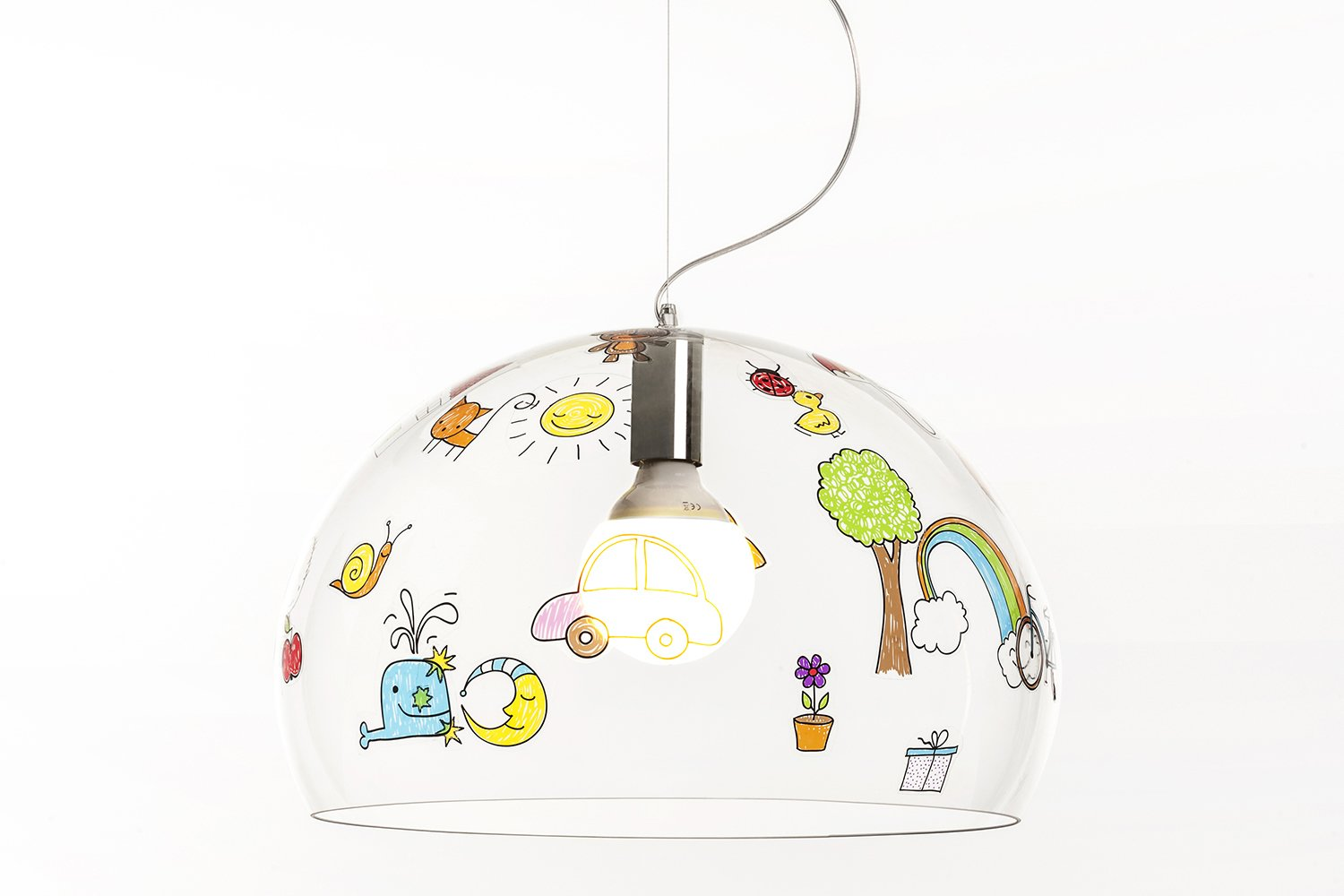 Fly lamp by Ferruccio Laviani for Kartell  Kartell Takes on the Rocking Horse with a Super Kids' Line by Allie Weiss