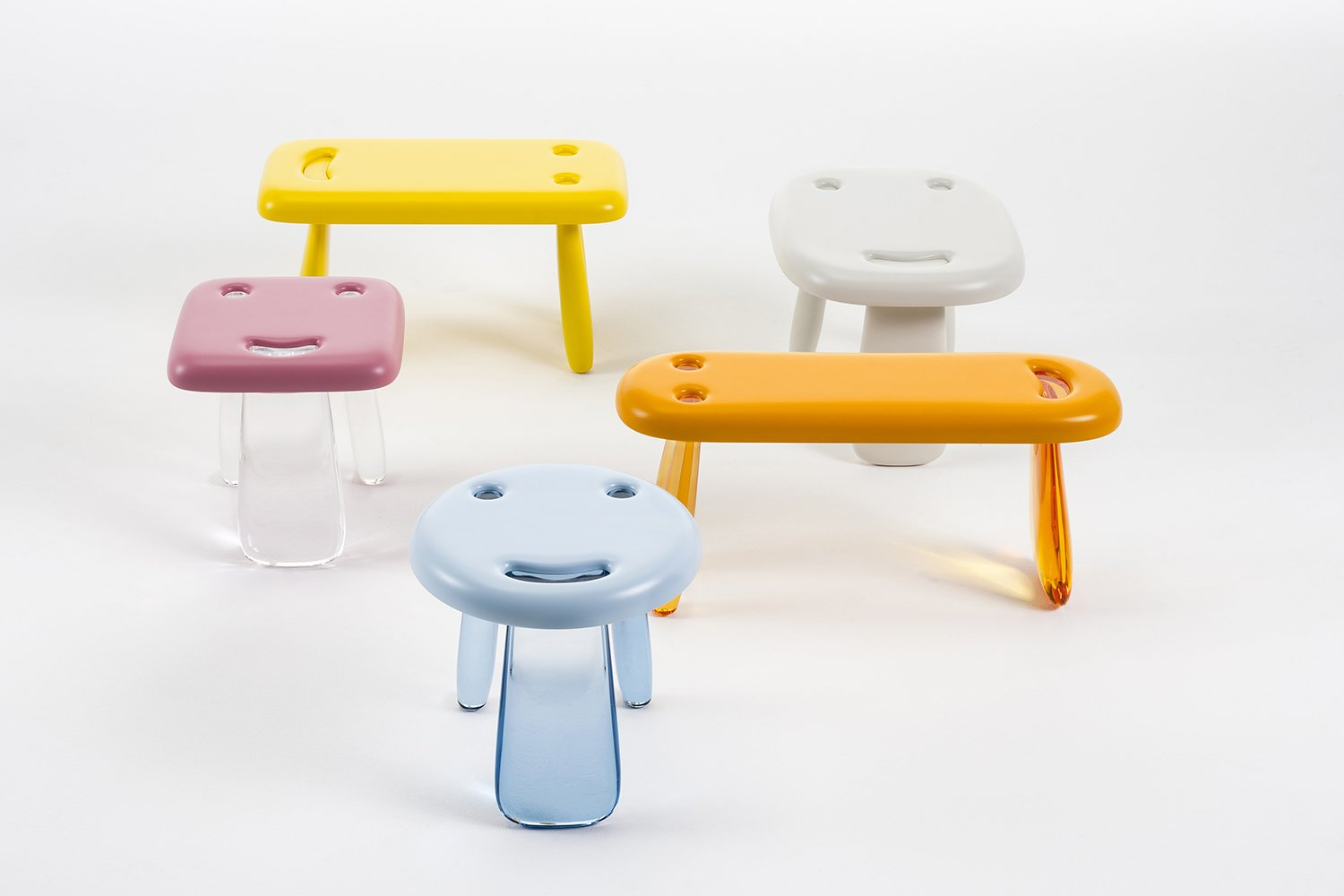 Smile seating by Nendo for Kartell  Kartell Takes on the Rocking Horse with a Super Kids' Line by Allie Weiss