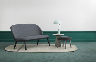 Hans Hornemann's Ace seating collection for Normann Copenhagen is a luxurious take on flat-pack furniture—it can be easily transported by box.