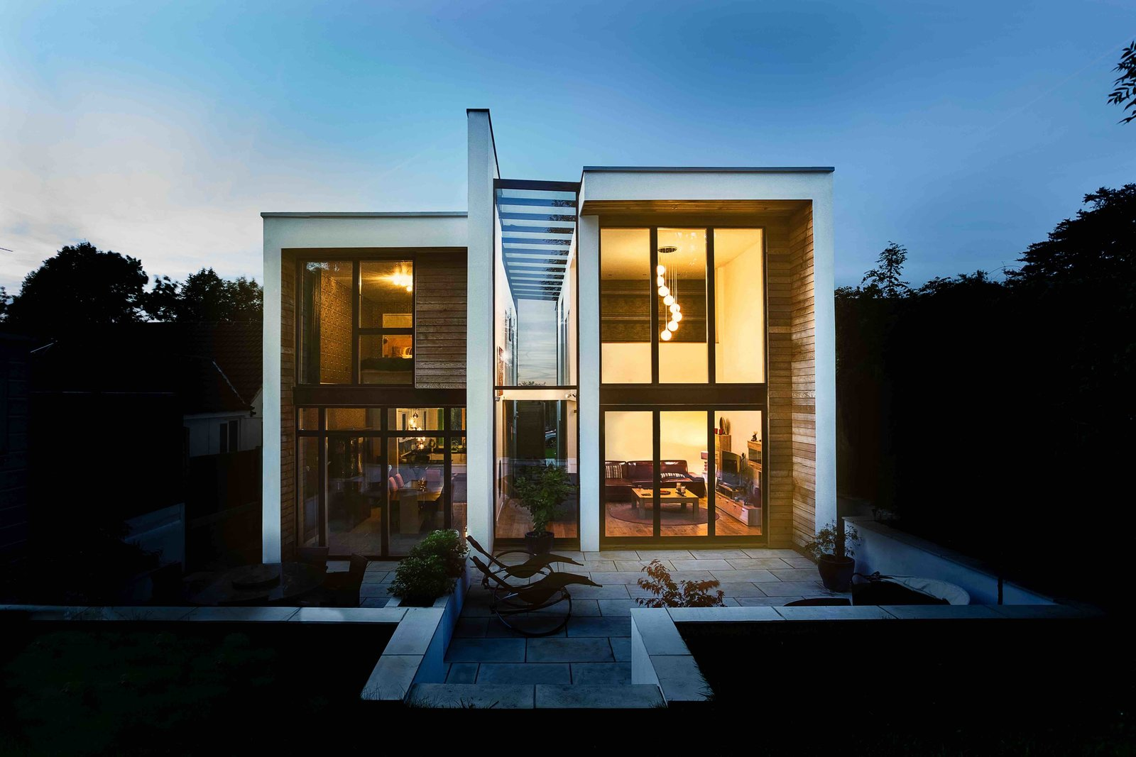 Wrap House Modern Home In London England United Kingdom By Ob On