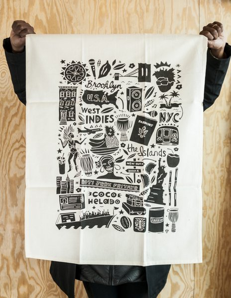 CaribBEING   CaribBEING is a boutique non-profit organization whose mission is to build community through the lens of the Caribbean cinema, culture, and art. Products include Caribbean-inspired, tote bags, tea towels, textiles, pouches, and stationery.
