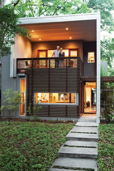 Exterior, House Building Type, Flat RoofLine, and Metal Siding Material Moreland House  Best Photos from Designed to Handle the Heat and More