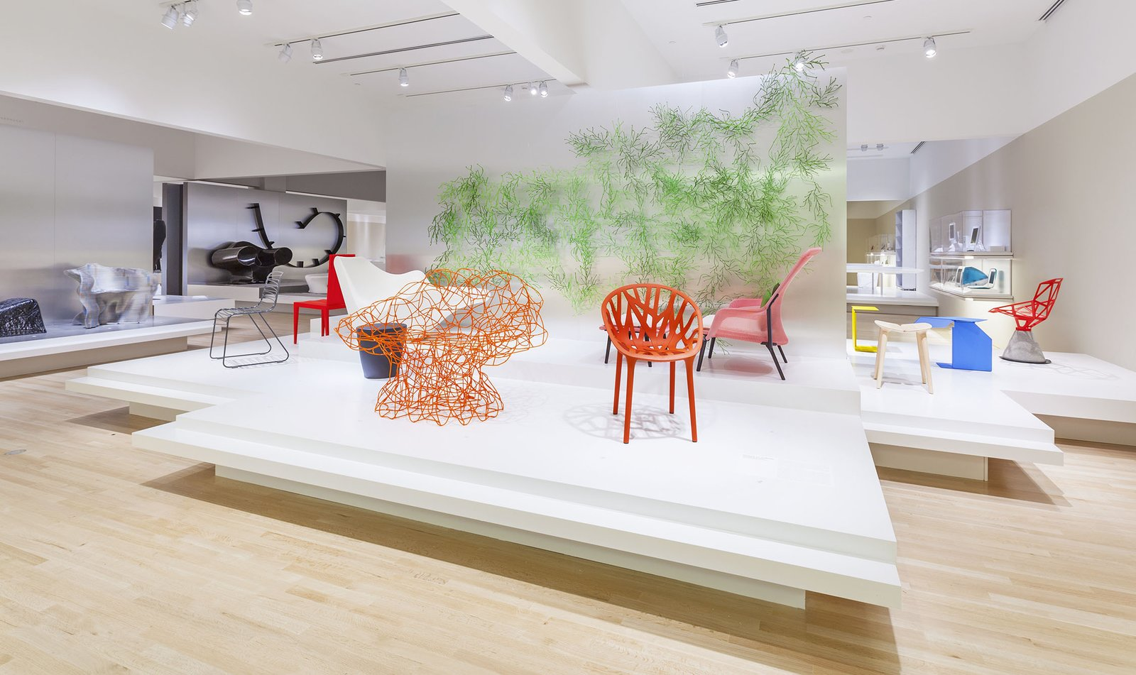 The 9,000-square-foot main gallery showcases contemporary design objects since 1980. Photo by Eric Lubrick.  Photo 1 of 7 in Indianapolis Museum Unveils New Contemporary Design Galleries