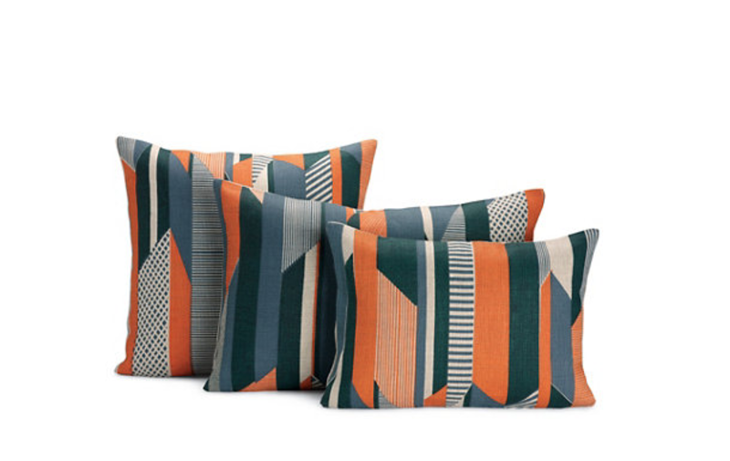 Textured Stripe Pillows by Tamasyn Gambell, $120–$180 from dwr.com