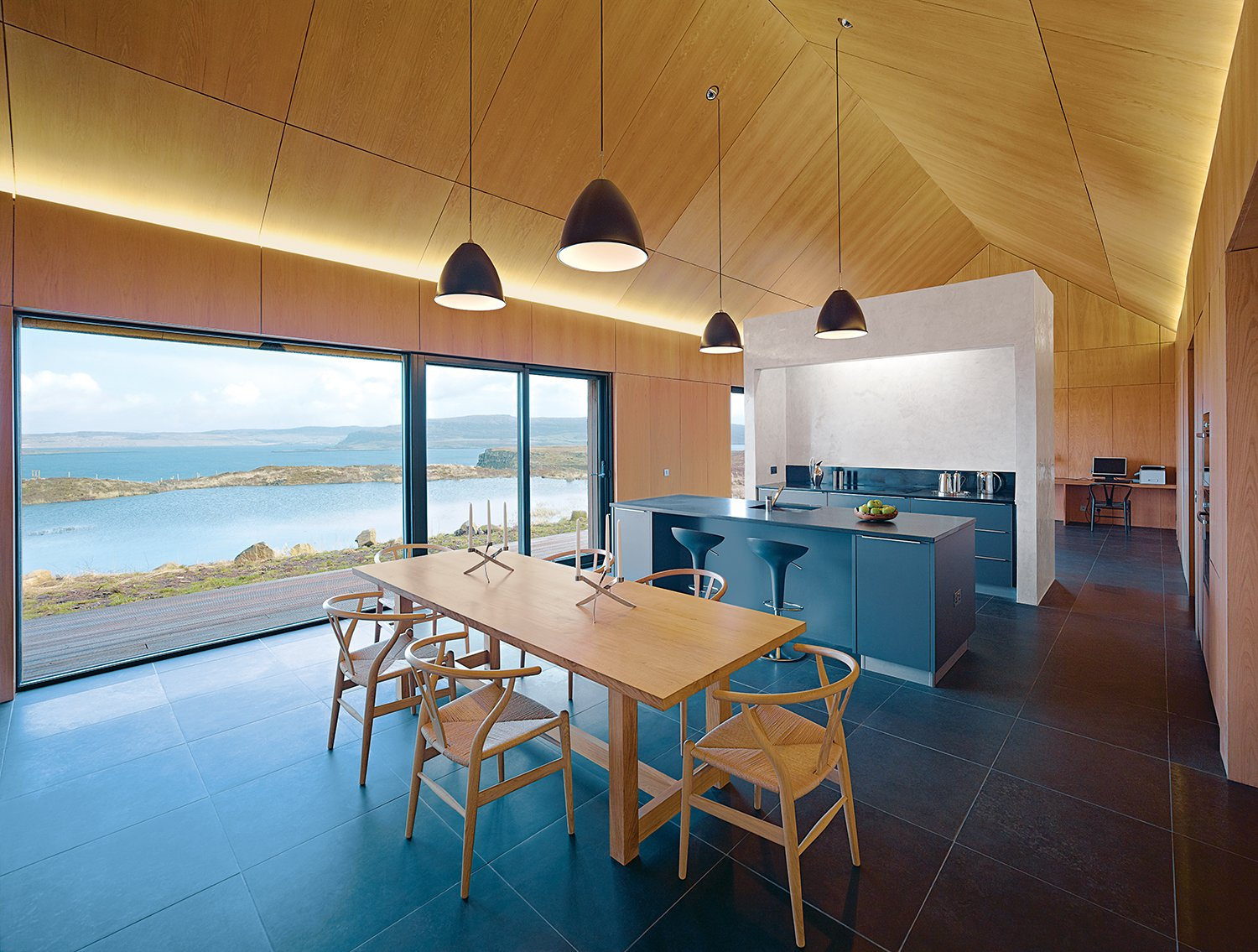 Dualchas Architects longhouse kitchen