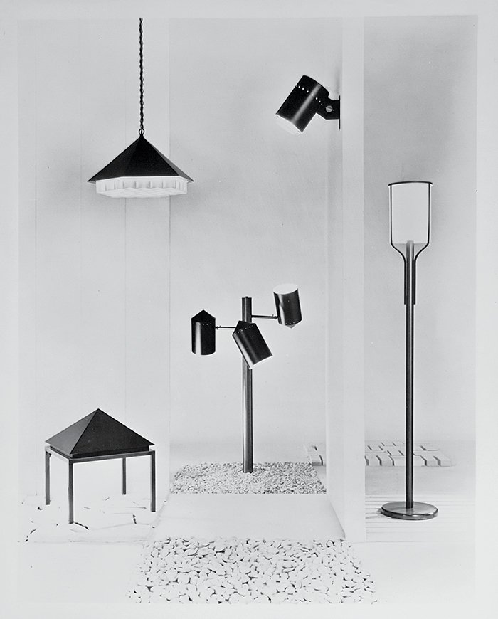 Nessen Lighting produced a series of five DeRespinis lamps in 1960.  Photo 5 of 9 in Meet the George Nelson Associate Who Designed the Dunkin' Donuts Logo