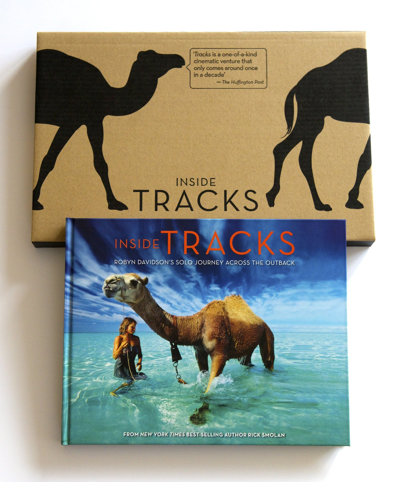 The cover of Inside Tracks.  Photo 2 of 3 in Travel Across the Australian Outback with This Book